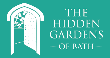 The Hidden Gardens of Bath Logo Design